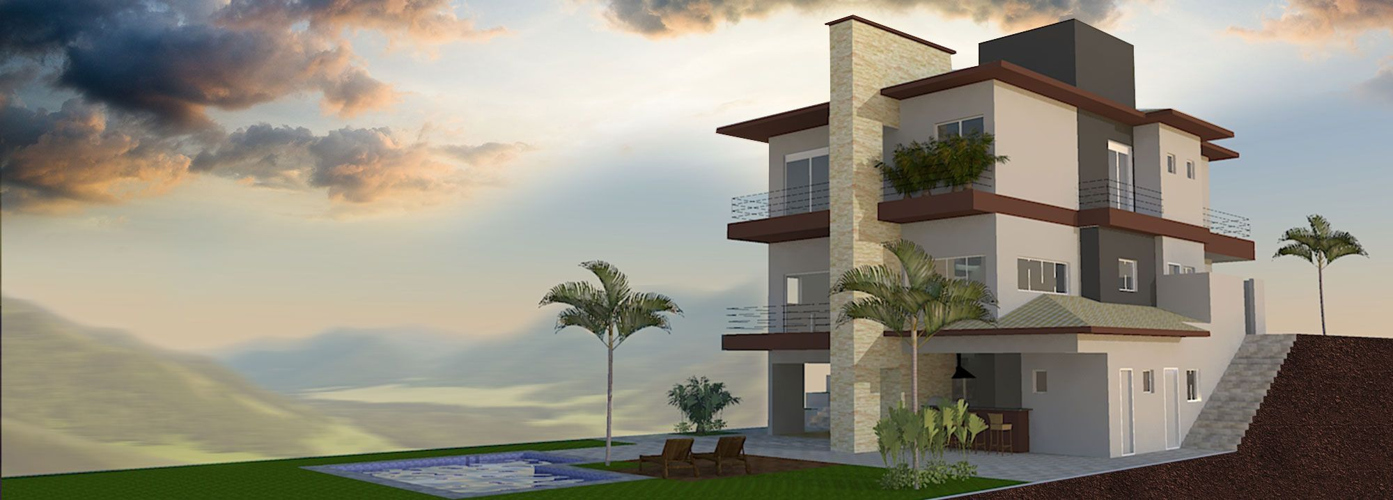 Projeto Residencial - 417,56 m²