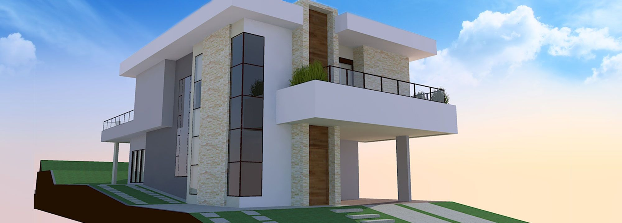 Projeto Residencial - 316,60 m²