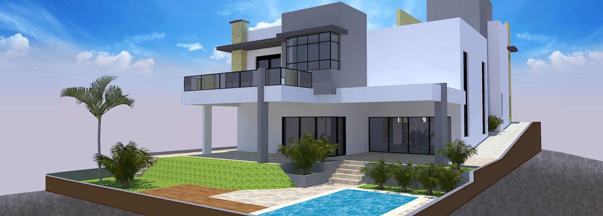 Projeto Residencial - 329,56 m²